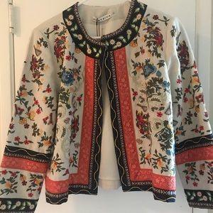Alice & Olivia Embroidered Jacket